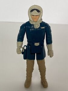 🔥Vintage Star Wars ESB Action Figure 1980 HK CCO 🔥 HAN SOLO HOTH PAINTED LEGS