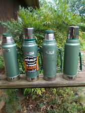 Lot of 4 Aladdin Stanley Vacuum Bottle/Thermos-1 and 1.1 Quarts