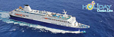 Holiday Cruise Line Tickets - Two Tickets for a Two day cruise to the Bahamas