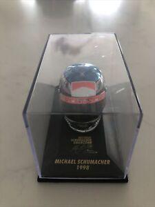 Michael Schumacher 1/8 Scale Replica Helmet 1998 Minichamps