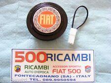 FIAT 500 F/L/R 126 PULSANTE CLACSON VOLANTE AUTO SPORTIVO COMPLETO DI LOGO FIAT