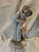 """Porcelain 7� Family Circus """"My Turn Next� By Bil Keane For Clay in Mind"""