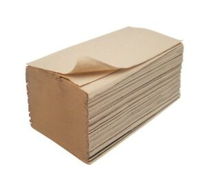 Eco Interleaved Paper Hand Towels Recycled environmental friendly 1-ply Strong