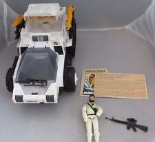 G.I. Joe Snow Cat With Frostbite 1985 100% Complete Original Vintage