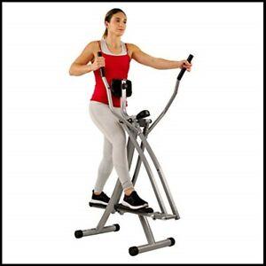 Air Walk Trainer Elliptical Machine Glider Exercise Gym Equipment Weight Loss