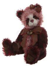 """Flamenco Mohair Teddy Bear by Charlie Bears - 18"""" SJ5921B"""