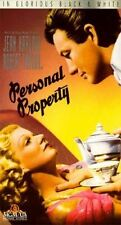 VHS Personal Property: Jean Harlow Robert Taylor Cora Witherspoon Reginald Owen