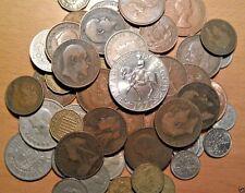 100 Lote a granel reinas y reyes Victoria Edward George Elizabeth 100 monedas