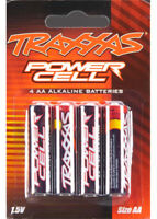 Traxxas 2914 Power Cell 1.5V AA Alkaline Battery (4) Desert Racer