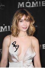 Autographe sur photo de : Alix Bénézech ( Série NINA )