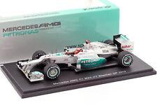 M. Schumacher Mercedes AMG W03 last Race GP Brasilien Formel 1 2012 1:43 Spark