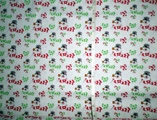 New FROSTY THE SNOWMAN - Cotton Fabric - on white - by Quilting Treasures - bty
