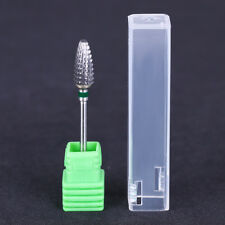 """Electric Bullet Nail Drill Bit 3/32"""" Tungsten Steel Nail Art Griding Tools"""