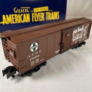 American Flyer # 6-48358 S Scale Santa Fe Boxcar El Capitan Trains