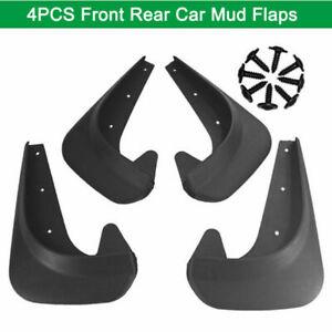 4PC Full Set Flexible Car Fender Flares Extra Wide Body Wheel Arches EVA Plastic