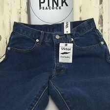 Vintage HIGH RISE Denim Jeans Size 8 ORIGINAL Casual Pants