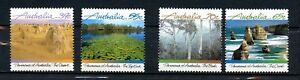 Australia MNH 1988  Panorama of Australia Landscapes 4 Values K433