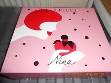Nina Ricci NINA Gift Set 2 PC Women,, 50 ml eau de toilette and fancy pink lipst