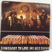 45 Record  THE JEFFERSON AIRPLANE - SOMEBODY TO LOVE - RCA - ITALY PS