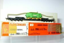 Fleischmann 1494 G / 5299 H0 DB Schwerlastwagen Großgenerator Brown Boveri OVP