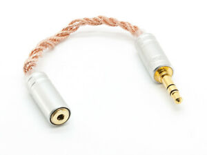 iBasso CA01 Handmade 4 wire braided Cable Adapter 2.5mm balanced --> 3.5mm TRS