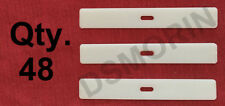 48 VERTICAL BLIND Fabric Inserts - for Top Pocket to Hold Vanes on Track -Saver