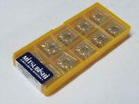 10 pcs MITSUBISHI Carbide inserts CNMG 432 MA / CNMG 120408-MA Grade UE6020