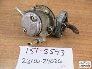 Toyota Corolla Fuel Pump  ref. 23100-29026     1967-4/1970