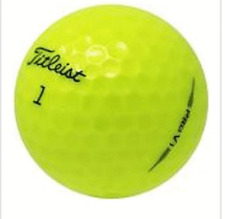 New listing 24 Golf Balls - 2019 Titleist Pro V1 Yellow   AAAAA