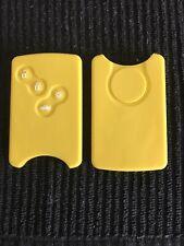 renault key fob cover megane laguna  yellow (card type )