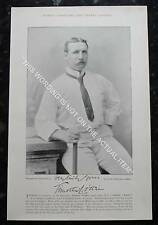 RARE Original Famous Cricketers, #025 Timothy Carew, Middlesex, Cricket 1895