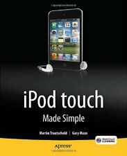iPod Touch Made Simple. Trautschold, Martin 9781430231950 Fast Free Shipping.#