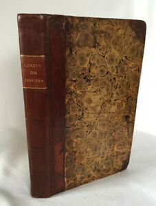 1832 Rare Medical Book Epidemic Cholera Prevailed In India Frederick Corbyn