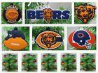 Chicago Bears 6 Piece Christmas Ornaments Set