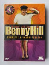 """BENNY HILL """"NAUGHTY EARLY YEARS""""COMPLETE & UNADULTERATED(1968-71)3-DISC SET A&E"""