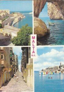 M Malta, Mehrbildkarte glum 1970? G1133