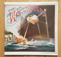 JEFF WAYNE'S THE WAR OF THE WORLDS SOUNDTRACK & BOOKLET - 2 x VINYL LP RECORDS