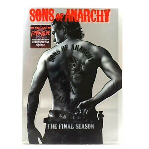 Sons of Anarchy Final Season 7 Gangster Bikies Motorcycle DVD R1 Good Condition