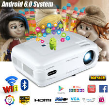 Excelvan Kabellos Android 3D 1080P Heimkino Beamer Projektor for Iphone Sumsung