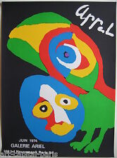 APPEL KAREL AFFICHE 1974 TIRÉE EN LITHOGRAPHIE LITHOGRAPHIC POSTER MAEGHT PARIS