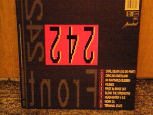 Front 242 - Front By Front  Anmalized 1988