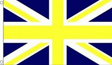 UNION JACK Yellow and blue HUGE 8 X 5 FEET Football flags BRITISH ENGLAND FLAG