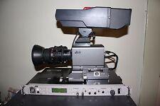 JVC KA-F5602U Studio Camera  Kit W/ Fujinon S14x7.5BRM-4 Zoom Video Lens