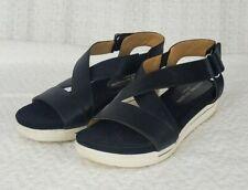 Adrienne Vittadini Sport Women's Claud Sandals Black/ White Size 8.5