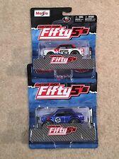 MAISTO Custom shop Fifty5's Datsun 510 BRE Nissan Brock Rubber Tires Set of 2