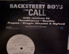 "Backstreet Boys The Call 5 mixes US DJ 12"" Thunderpuss"