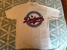 Vintage 1988 Los Angeles Dodgers National League Champions White XL