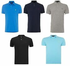 Ralph Lauren Men's Short Sleeve Collared Casual Shirts & Tops