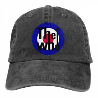 The Who Rock Band Logo Snapback Baseball Hat Adjustable Cap