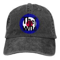 The Who Rock Band Logo Snapback Baseball Hat Adjustable Cap